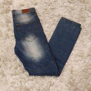 Dash moto style distressed jeans 32x32